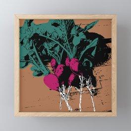 Radishes Framed Mini Art Print