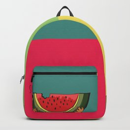 Summer Detected Watermelon Backpack