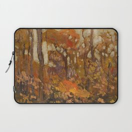 Tom Thomson - Autmn, Algonquin Park  - Canada, Canadian Oil Painting - Group of Seven Laptop Sleeve