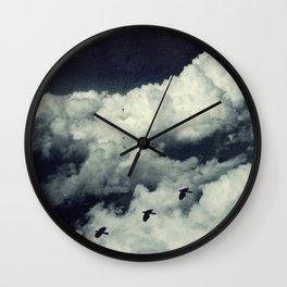 A Bird's Dream Wall Clock