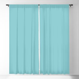 Dark Pastel Blue Inspired by Coloro Purist Blue - Baby Blue 093-76-17 Blackout Curtain