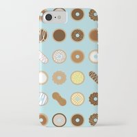 donuts iPhone & iPod Cases featuring Donuts by Dorothy Leigh