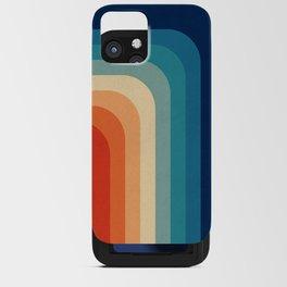 Retro 70s Color Palette III iPhone Card Case