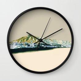 Marbella Sand Wall Clock