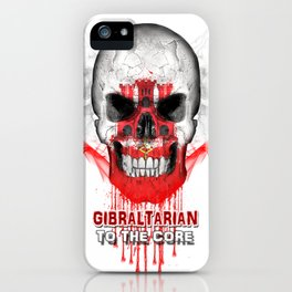 To The Core Collection: Gibraltar iPhone Case