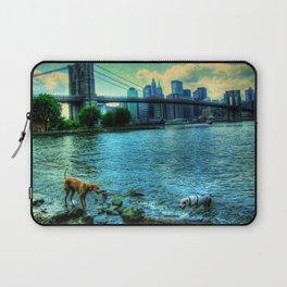 New York Brooklyn Bridge Laptop Sleeve