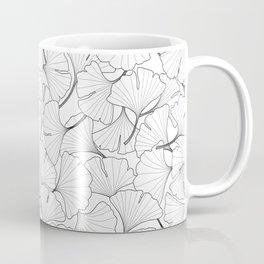 ginkgo leaves (white) Coffee Mug