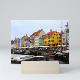 Nyhavn Copenhagen Denmark Mini Art Print