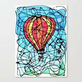 Festival in Flight Canvas Print
