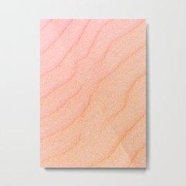 Sand Wave - Beautiful Ripple Metal Print