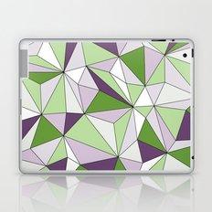Geo - green, purple, gray and white. Laptop & iPad Skin