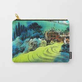 Tuscan hills in autumn Carry-All Pouch