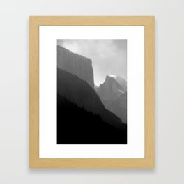 Frosted Dome Framed Art Print