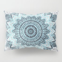 BOHOCHIC MANDALA IN BLUE Pillow Sham