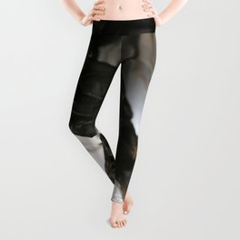 black plastic 06 Leggings