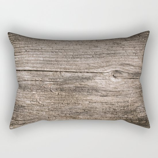 The old boards . Wood . Rectangular Pillow