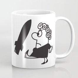 Stop de Neutronenbom Cartoon Coffee Mug