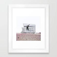Misplaced Series - Cooper Union Framed Art Print