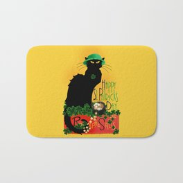 St Patrick's Day - Le Chat Noir Bath Mat