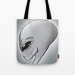 Halloween Theme [The Grey Alien] Tote Bag