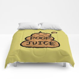 Poop Juice Comforters