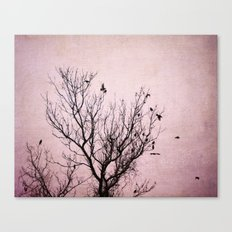 Plum Dusk Canvas Print
