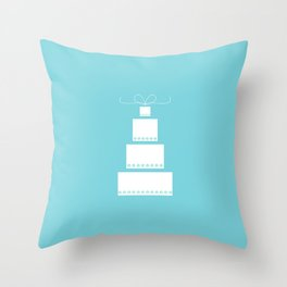 Wedding Cake Throw Pillow