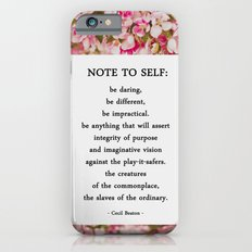 note to self. iPhone 6 Slim Case