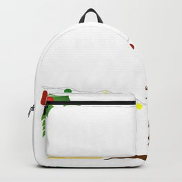 i'm just a morning individual on december 25th xmas tee Backpack