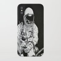 spaceman iPhone & iPod Cases featuring Spaceman by Bri Jacobs