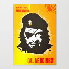 Call Me Big Boss Canvas Print