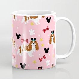 cavalier king charles blenheim coat theme park lover dog breed Coffee Mug