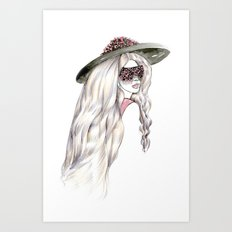 Mount Your Goddess Art Print