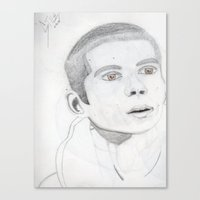 stiles Canvas Prints featuring Stiles by KadenDior