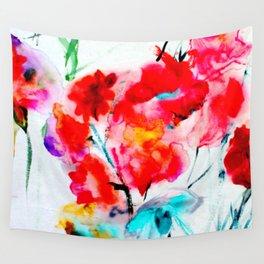 RED  #society6 #decor #buyart Wall Tapestry