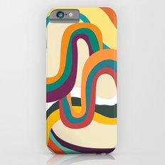 Groovy rainbow of doom iPhone 6s Slim Case