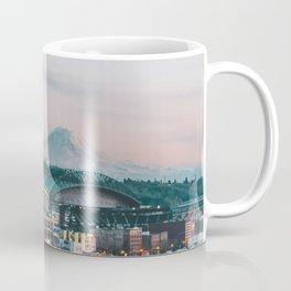 Seattle & Mount Rainier Coffee Mug