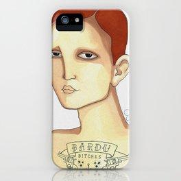 Bardu Bitches iPhone Case