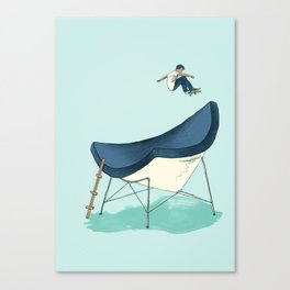Skateable Chair | Nelson Canvas Print