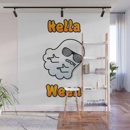Hella Ween Halloween Ghost Wall Mural