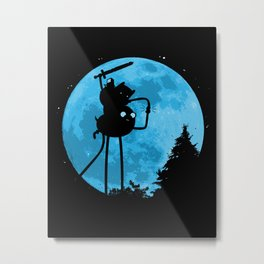 A.T. - With Finn and Jake Metal Print