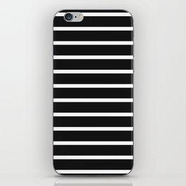 Black Stripes iPhone Skin