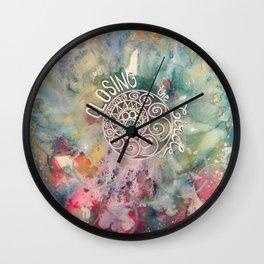 Closing the Circle Wall Clock