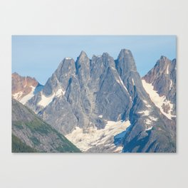 The Mountain's Crown Canvas Print