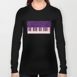 Neon MIDI Controller Long Sleeve T-shirt