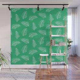 Friendly Ferns Green Wall Mural