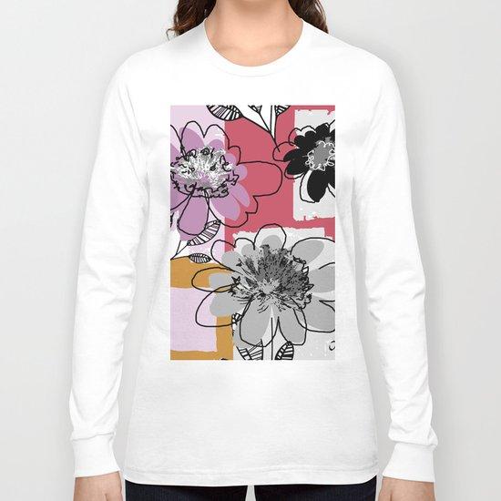 flower patch Long Sleeve T-shirt