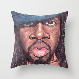 Wyclef Jean The Fugees Throw Pillow