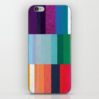 stripes iPhone & iPod Skins featuring Stripes by Kakel