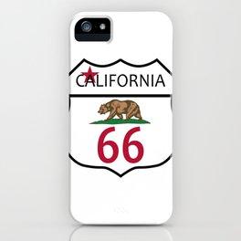 Route 66 California iPhone Case